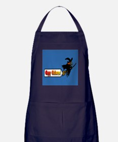 Flying Witch Apron (dark)