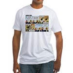 2L0050 - Drug runners vs... Fitted T-Shirt