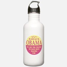 OBAMA - WE ARE THE CHANGE Sports Water Bottle