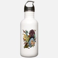 I Heart Dinosaurs Water Bottle