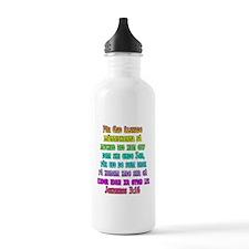 John 3:16 Swedish Water Bottle