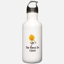 Tae Kwon Do Chick Water Bottle