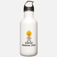 Internal Medicine Chick Water Bottle