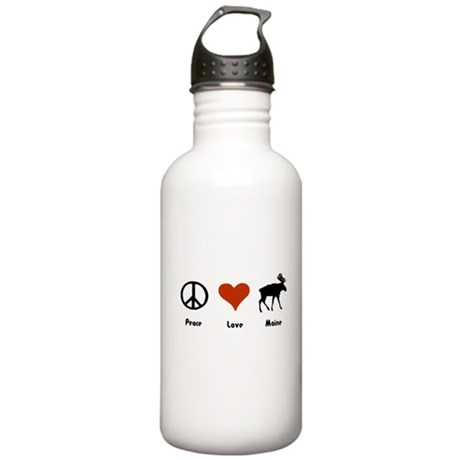 Peace, Love Maine Stainless Water Bottle 1.0L