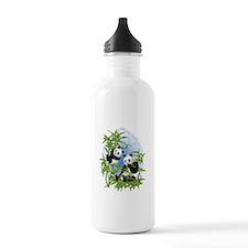 Panda Bears Sports Water Bottle