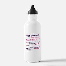 Well Behaved Women Water Bottle