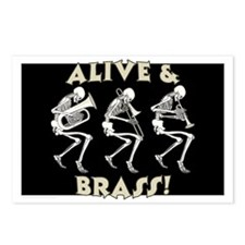 Alive & Brass Postcards (Package of 8)