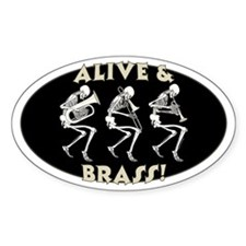 Alive & Brass Decal