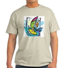 Windsurfing Ash Grey T-Shirt