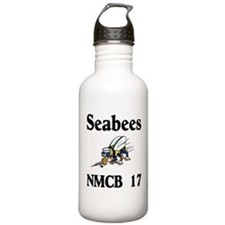 Seabees NMCB 17 Water Bottle