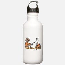 Campfire Rather be camping Water Bottle