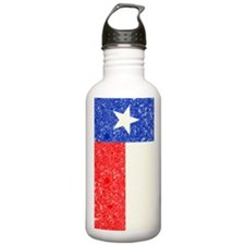Vintage State of Texas Flag Water Bottle