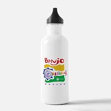 Cute Banjo Water Bottle