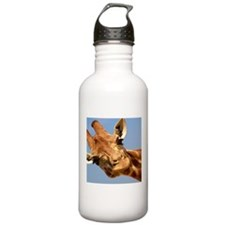 Curious Giraffe Sports Water Bottle