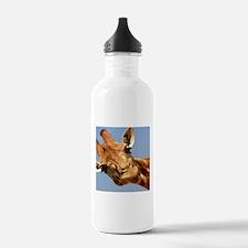 Curious Giraffe Sports Water Bottle