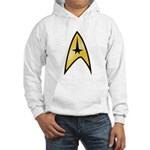 Star Trek Insignia (large) Hooded Sweatshirt