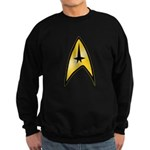 Star Trek Insignia (large) Sweatshirt (dark)