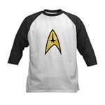 Star Trek Insignia (large) Kids Baseball Jersey