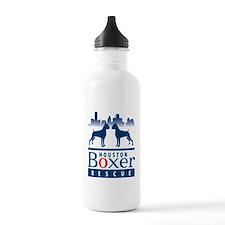 Unique Houston boxer rescue Water Bottle