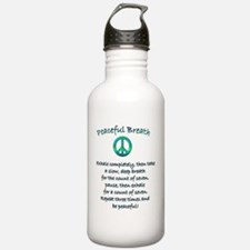 Peaceful Breath Water Bottle