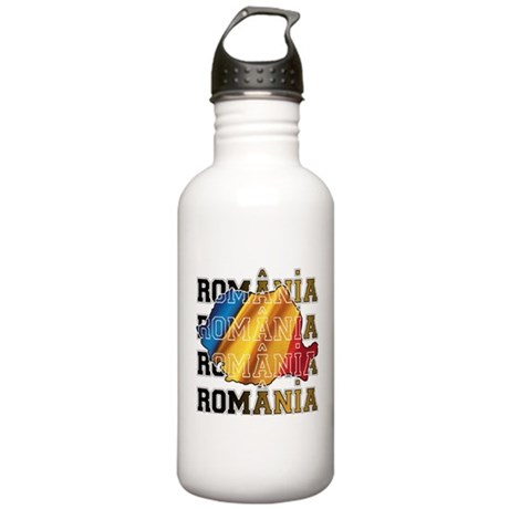 Romania 2 Stainless Water Bottle 1.0L