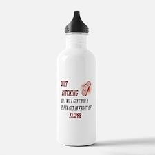 Funny Team jasper Water Bottle