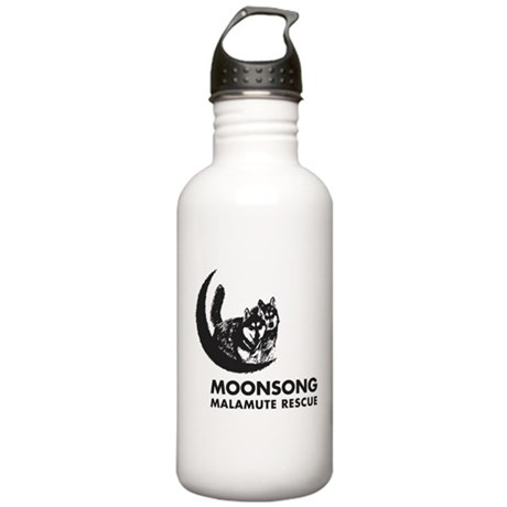 Moonsong Malamute Rescue Stainless Water Bottle 1.