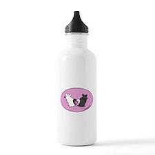Chinchilla Hearts Water Bottle
