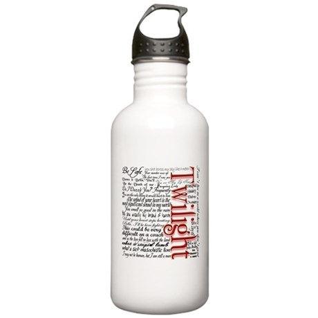 Movie Twilight Quotes Gifts Stainless Water Bottle