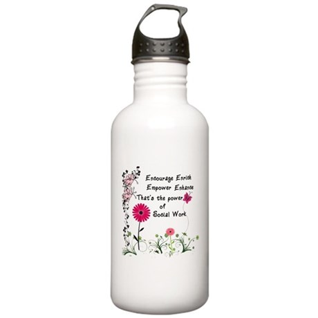 Power of Social Work Stainless Water Bottle 1.0L
