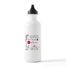 Power of Social Work Water Bottle