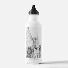Cute Baker oregon Water Bottle