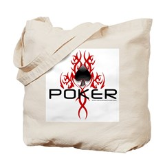 Tribal Poker Tote Bag