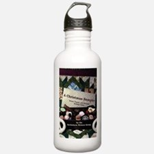 Christmas Book Water Bottle