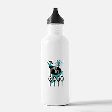 Area 51 Cafe Sports Water Bottle