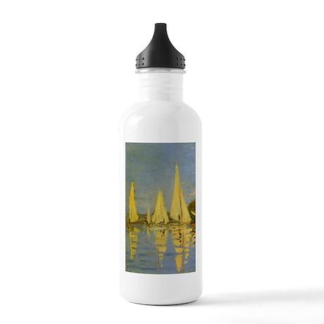 Monet Regatta at Argenteuil Stainless Water Bottle