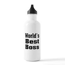 World's Best Boss Water Bottle