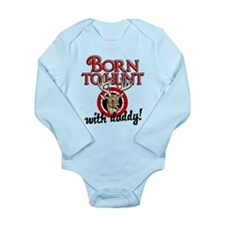 Born to Hunt With Daddy Long Sleeve Infant Bodysui