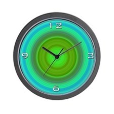 Aqua Fun Wall Clock