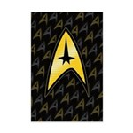 Star Trek Insignia (large) Mini Poster Print