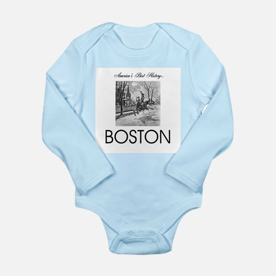 ABH Boston Long Sleeve Infant Bodysuit