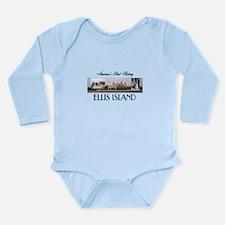 ABH Ellis Island Long Sleeve Infant Bodysuit