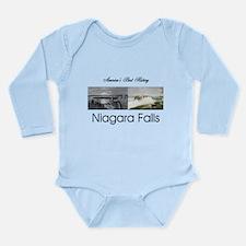 ABH Niagara Falls Long Sleeve Infant Bodysuit