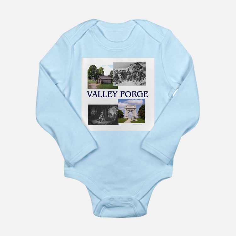 ABH Valley Forge Long Sleeve Infant Bodysuit
