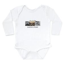 Harper's Ferry America Long Sleeve Infant Bodysuit