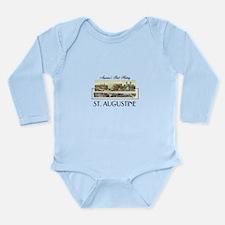 St. Augustine Americas Long Sleeve Infant Bodysuit