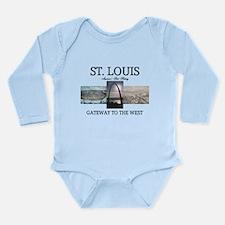 ABH Gateway Arch Long Sleeve Infant Bodysuit