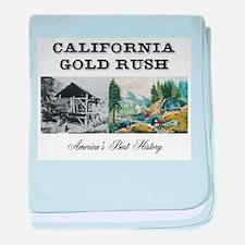 ABH California Gold Rush baby blanket
