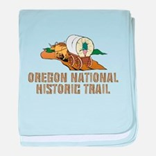 ABH Oregon National Historic Trail baby blanket