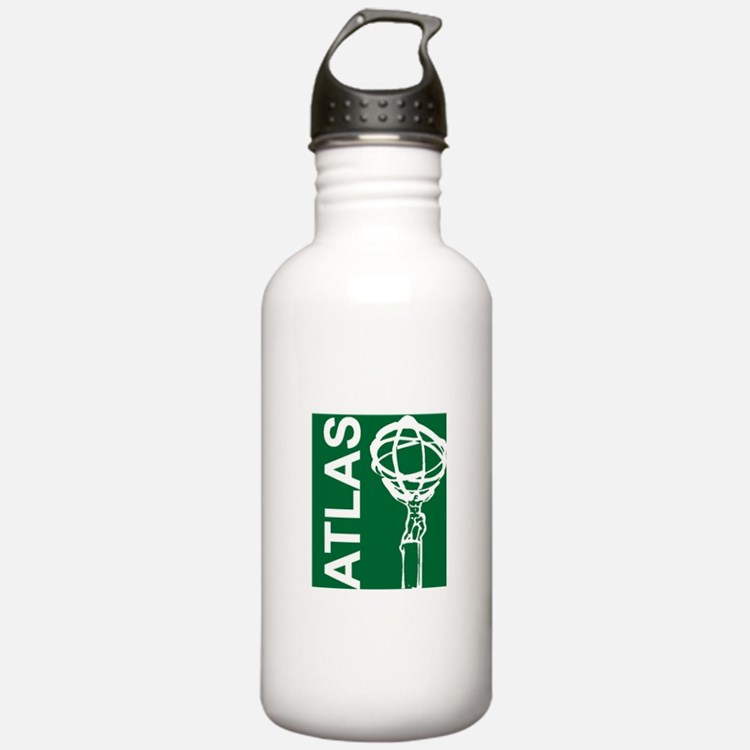 Cute Atlas Water Bottle